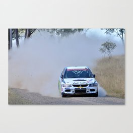 New England HWY rally Canvas Print