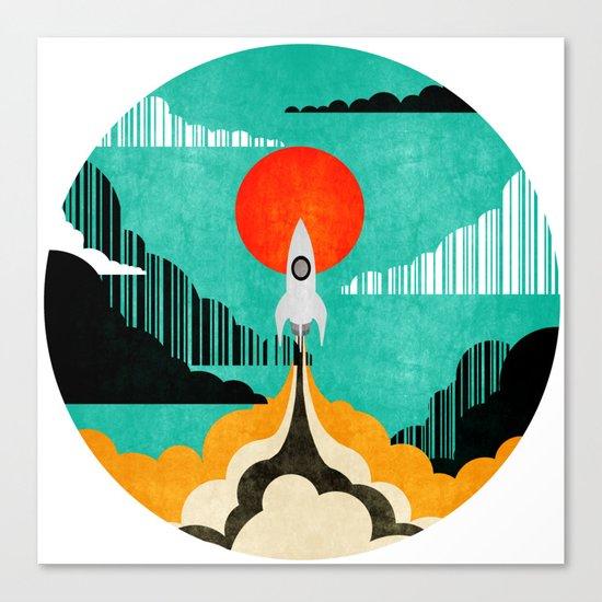 Spaceship C Canvas Print