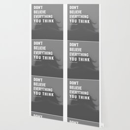 Don't Believe Everything You Think | You are Loved Wallpaper
