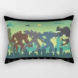 Pacific Rim: For My Family Rectangular Pillow