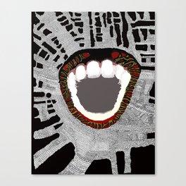 We Bite Canvas Print