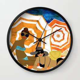 French Riviera Wall Clock