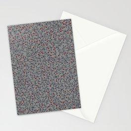 Mistletoe Pattern Stationery Cards