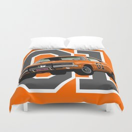 General Lee Dodge Charger Duvet Cover
