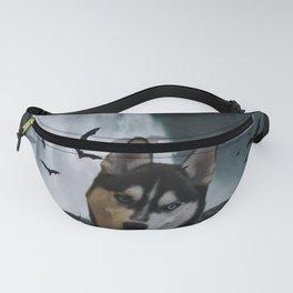 Kovu the Siberian Husky Fanny Pack