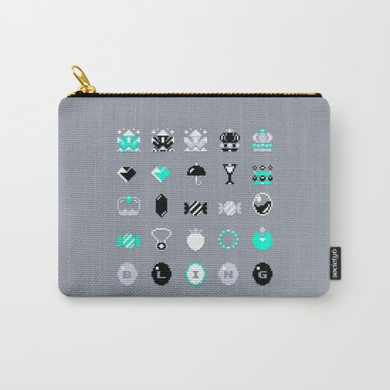 8-Bit Bling Carry-All Pouch