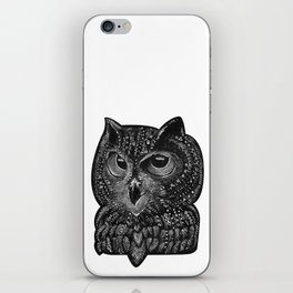 Cool owl iPhone Skin