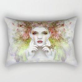 Peace Girl Rectangular Pillow