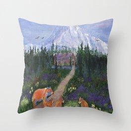 Denali Throw Pillow