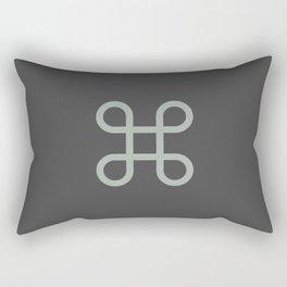 Command Bowen Knot Rectangular Pillow