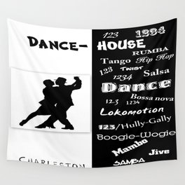 dance house Wall Tapestry