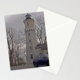 Subaru on the lake Stationery Cards