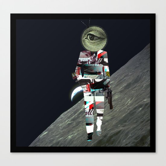 20 Space Canvas Print