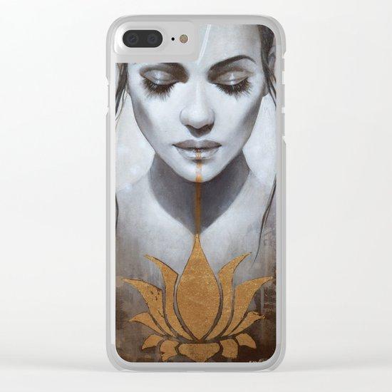 Le lotus Clear iPhone Case
