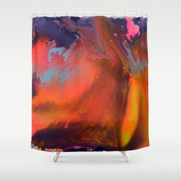 The Red Desert Shower Curtain