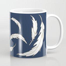 Come fly with me navy illustration Coffee Mug