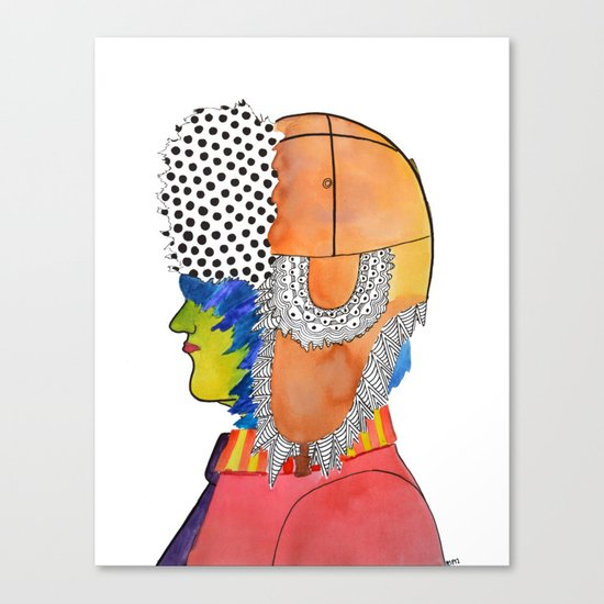 Trapper Hat Canvas Print