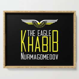Khabib Time The Eagle Serving Tray