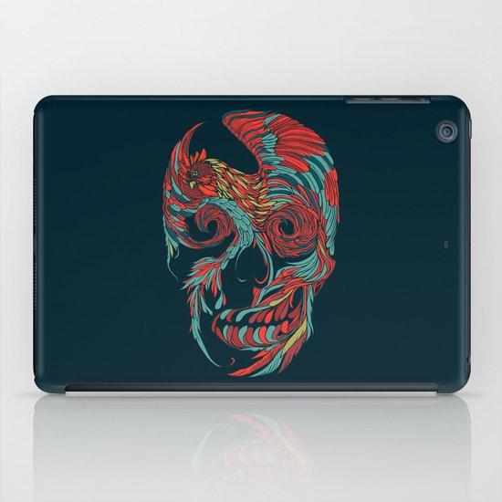 Rooster Skull  iPad Case