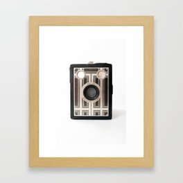 Vintage Camera No 5 Framed Art Print