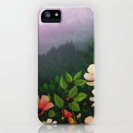 The Brighter Side Of The Dark Mountains iPhone Case