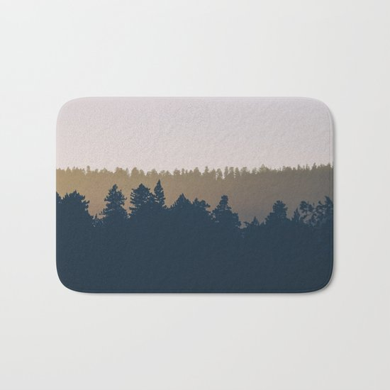 Woods Abstract Bath Mat