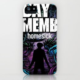 A DAY TO REMEMBER HOMESICK TOUR DATES 2019 BAKPAU iPhone Case