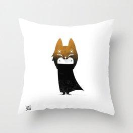 KAI -KITSUNE KID Throw Pillow