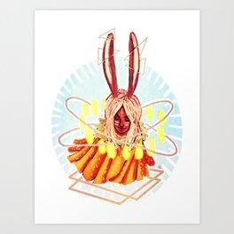 Bunn Art Print