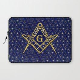 Freemasonry symbol Square and Compasses Laptop Sleeve