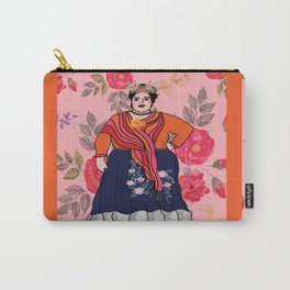 Fluffy Francesca Carry-All Pouch