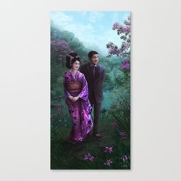Sakura Garden Canvas Print