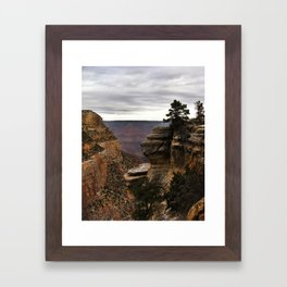 South Rim of The Grand Canyon Framed Art Print