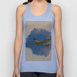 Spitfire - WWII Fighter Unisex Tank Top