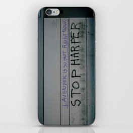 Stop Harper - Lavender Is So Hot Right Now iPhone Skin