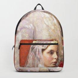 Marriage - Julius Garibaldi Melchers Backpack