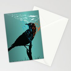 At the Birds Eye  Stationery Cards