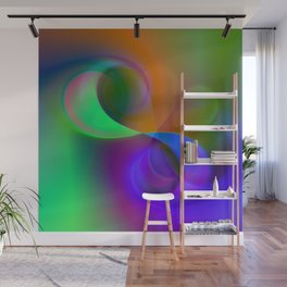 color whirl -32- Wall Mural