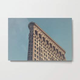 Manhattan Flatiron Building - NYC Metal Print