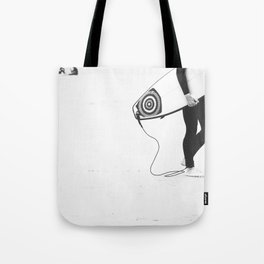 catch a wave V Tote Bag