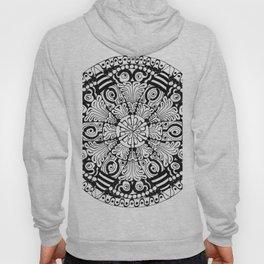 Mandala Monochrome Hoody
