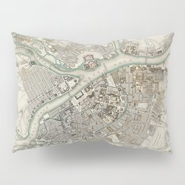 Vintage Map of St Petersburg Russia (1834) Pillow Sham