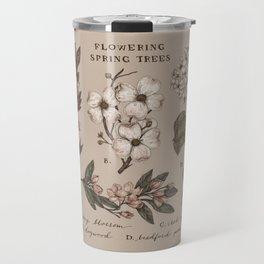 Flowering Spring Trees Travel Mug
