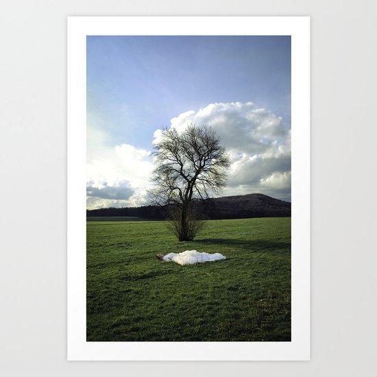 Melancholia Art Print