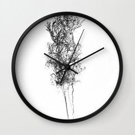 WABI SABI Dead Leaves. Wall Clock