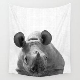 Rhino Decor Wall Tapestry