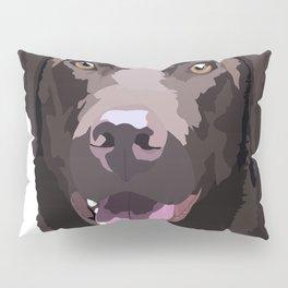 Libby the Chocolate Lab Pillow Sham