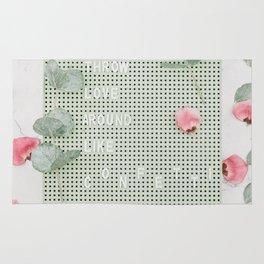 love and blooms #society6 #decor #buyart Rug