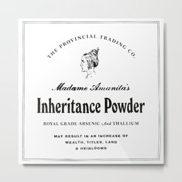 Inheritance Powder Metal Print