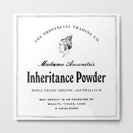 Inheritance Powder Metal Print